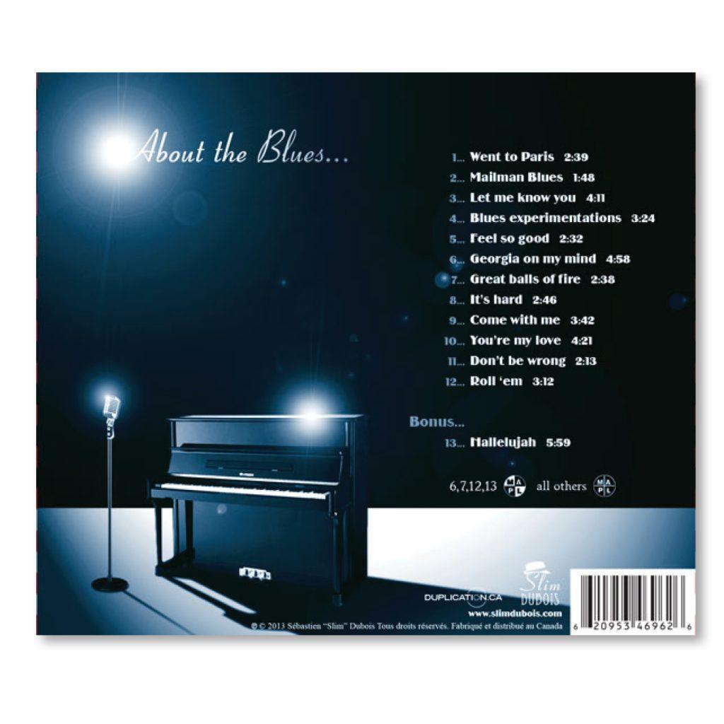 conception cd pochette livret