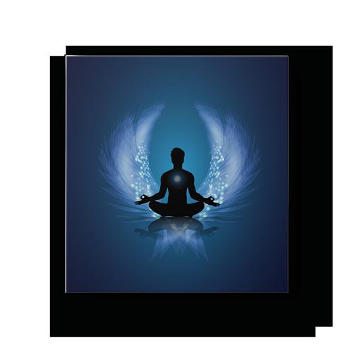 déco maison cadre yoga