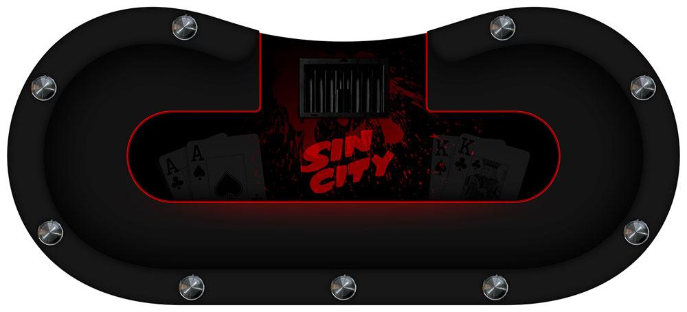 table de poker sin city