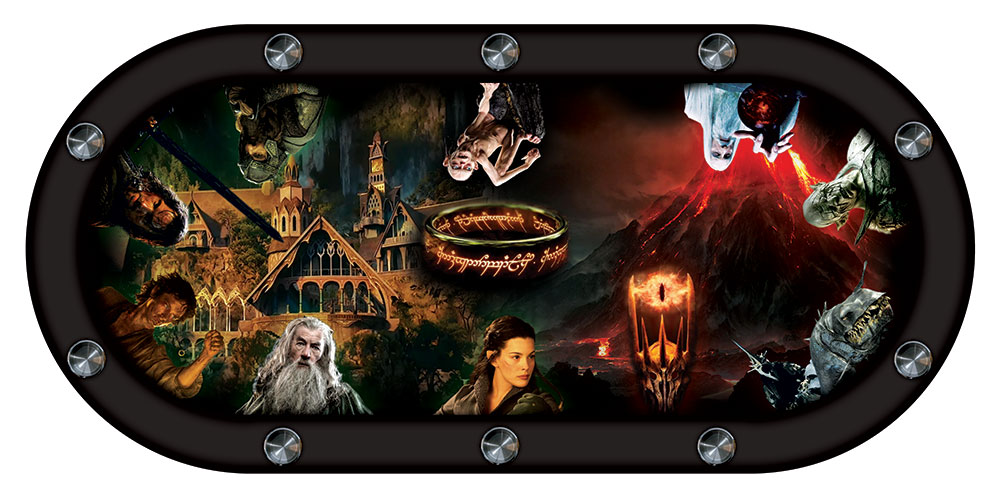 table de poker lord of the ring